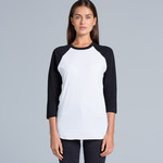 Ladies Raglan Baseball Top