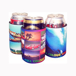 Sublimated Stubby Cooler Printing