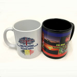 Sublimated Ceramic Coffee Mugs - 300mL