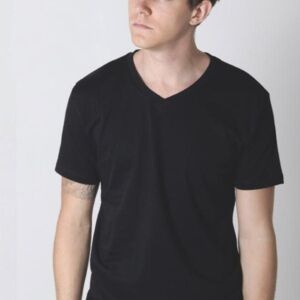 Mens Regular V Neck 'Gemini' T-Shirt Thumbnail