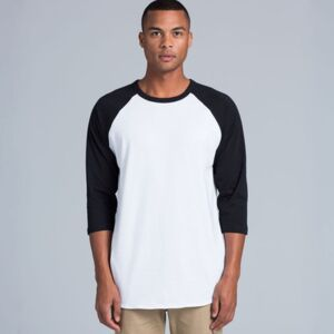 Men's Raglan Baseball Top Thumbnail